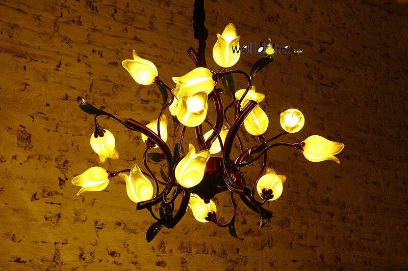 Moderne Neue LED Italien Design Mit Glas Und Eisen Hängen Lampe Für  Hauptdekoration Wohnzimmer Esszimmer In Moderne Neue LED Italien Design Mit  Glas Und ... Amazing Pictures