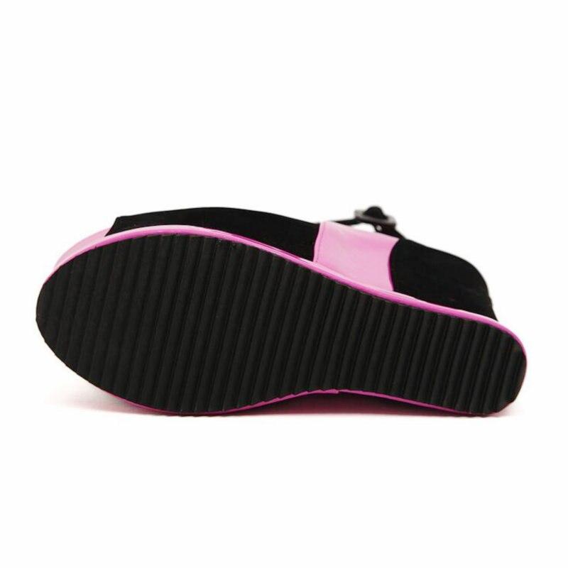 Cuñas Nueva Altos 2018 Sandalias marfil rosado Plataforma Mujeres Zapatos Negro Abierta Punta Ultra De Cpi Las 87 Kk Tacones Sexy Verano SAdvn577x