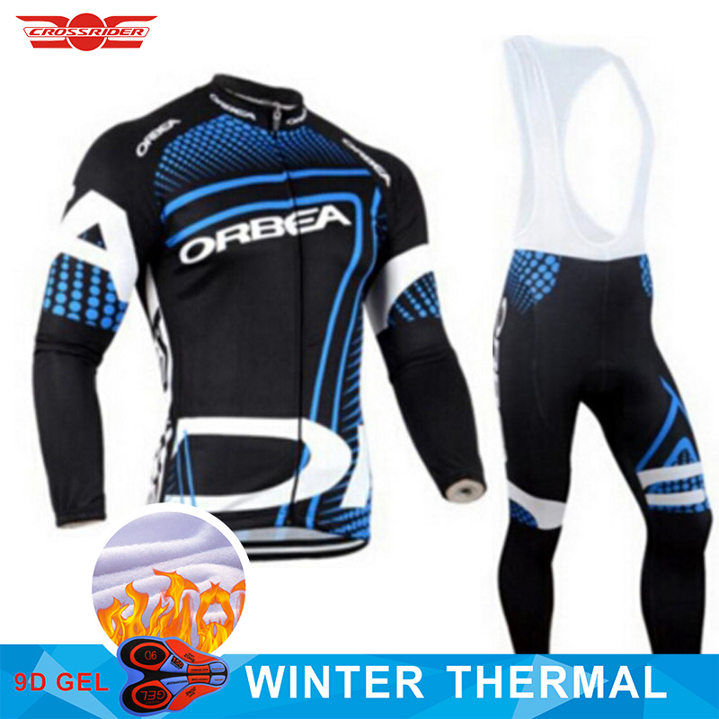 Team Orbea Pro Cycling Jersey Bike Clothing Pants Set Mens Ropa Ciclismo Winter Thermal Fleece Bicycle Jacket Cycling Wear 2017 men s cycling jersey mtb bike clothing orbea team cycling clothing ropa ciclismo jerseys pro bicycle wear bike clothes sets