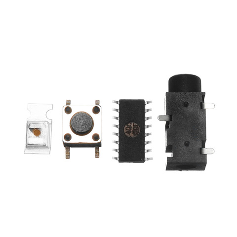 8*4 Level Indicator Kit SMD Soldering Practice Board Audio Spectrum Indicator Electronic Production Parts DIY Kit AMP board Islamabad