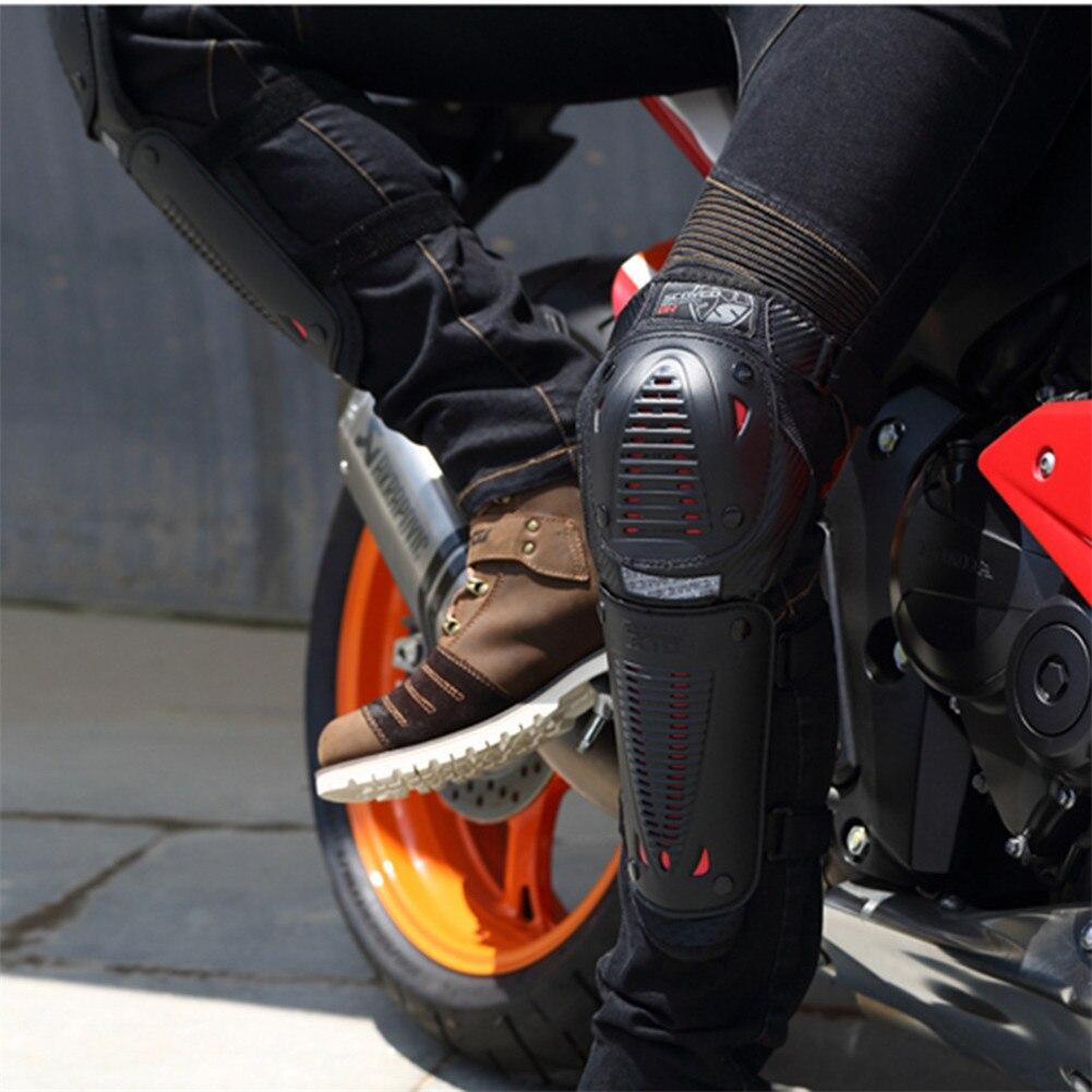 Genouillères de Moto protection de course de moteur protections de Motocross K1024 MX genouillères Motocicleta Moto CE Sports