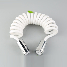 SHAI Телескопический анти-давление душ пружинная трубка Туалет чистящий шланг для биде 1,5 м/1,8 м/2 м/3 м