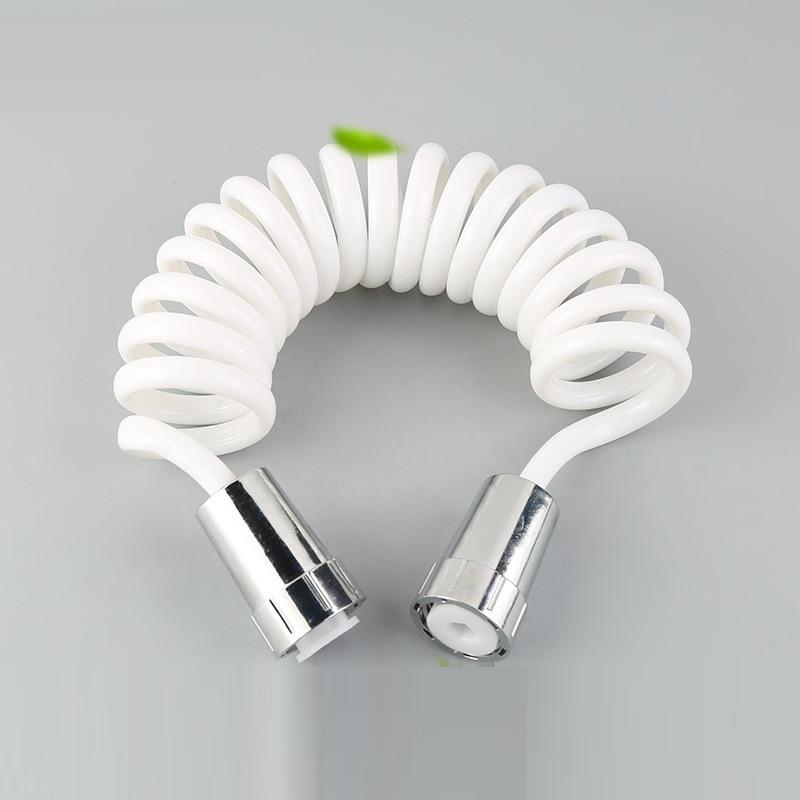 2018 SHAI Telescopic Anti-Pressure Shower Spring Tube Toilet Cleaning Bidet Hose 1.5M/1.8M/2M/3M