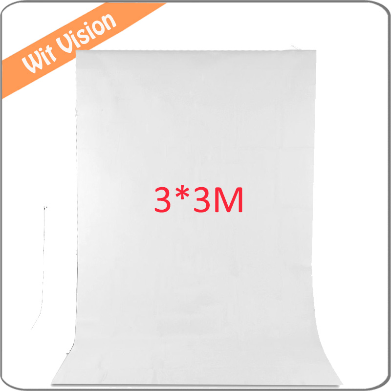 White 300*300CM Photography Backdrop Photographic Lighting Studio Muslin Background дипкул гаммакс 300