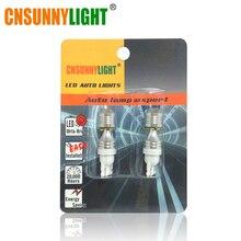 CNSUNNY светильник для автомобиля высокой мощности T10 W5W w/XB-D чипы светодиодный Обратный парковочный светильник для Toyota Honda Nissan Mazda Mitsubishi