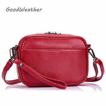 Designer woman leather handbag small luxury shoulder bag cross body fashion messenger bags women black genuine leather handbag - DISCOUNT ITEM  40% OFF All Category
