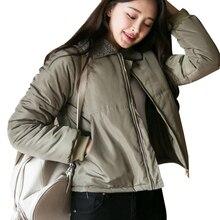 Oversized Coats Winter Jacket Women And Men Couples Parka Hood Lambs Wool Jackets Chaquetas Mujer Short Cotton Winter Coat