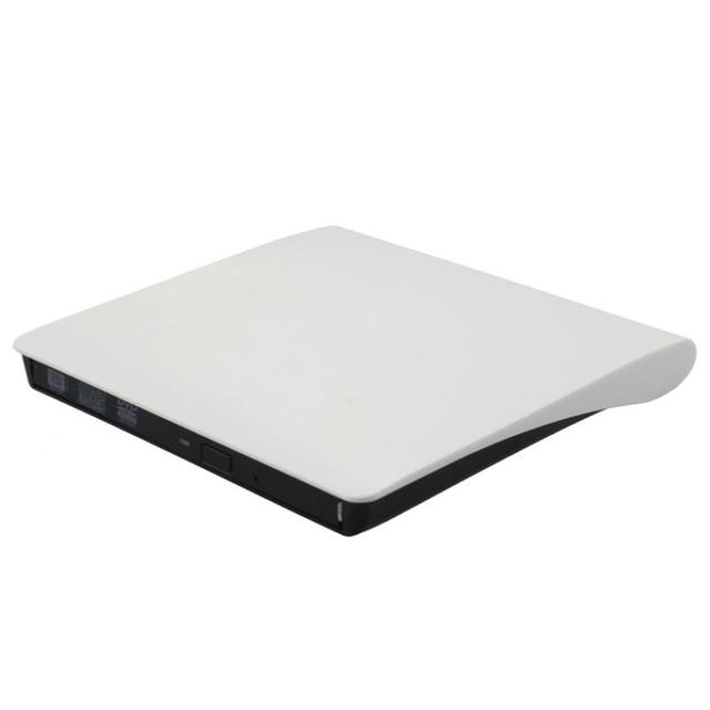 Beautiful Gift New USB 3.0 Pop-Up Mobile External Case Enclosure For 9.5mm SATA CD DVD BD-ROM BD-RE Drive Free Shipping Jan28