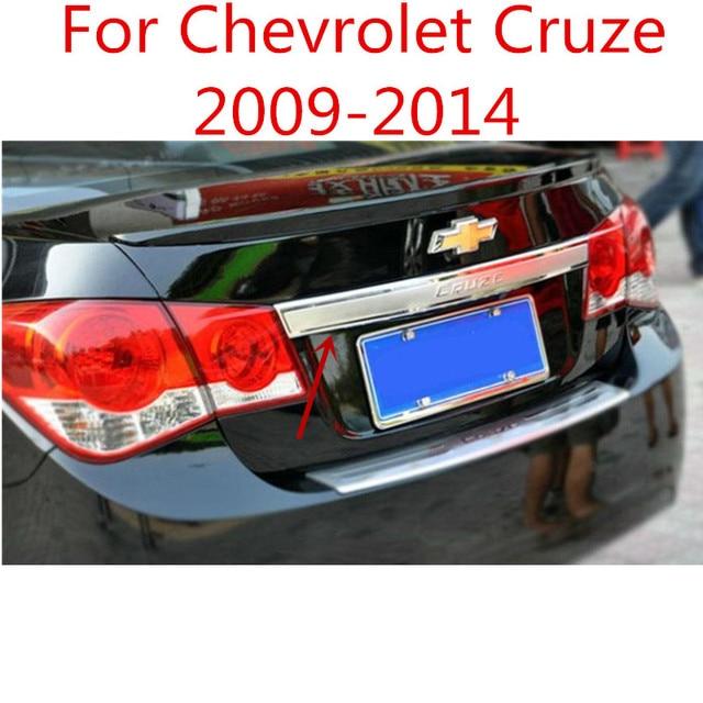 Stal nierdzewna i ABS Chrome tylna pokrywa do klamki tylna klapa tapicerka Bezel odlewnictwo stylizacja do chevroleta Cruze 2009-2014