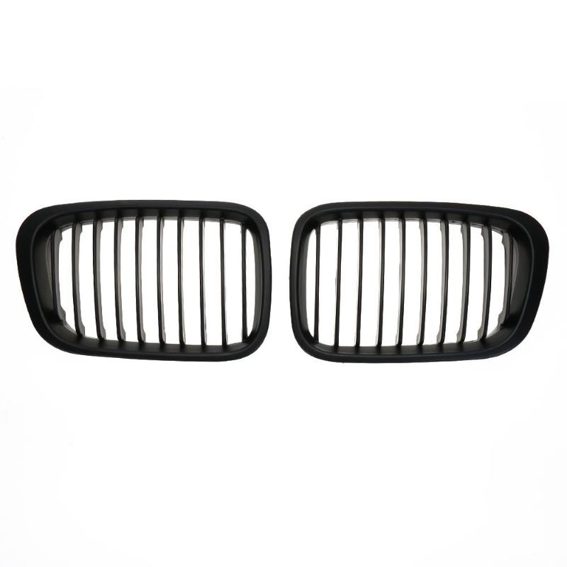 Brand New Black Front Kidney Grille Bumper Direct Replacement for BMW E46 98-01
