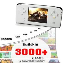 2018New Taşınabilir Video elde kullanılır oyun konsolu Retro 64 Bit 3 Inç 3000 Video oyunu Retro El Konsolu için TV RS97 RETRO-G...