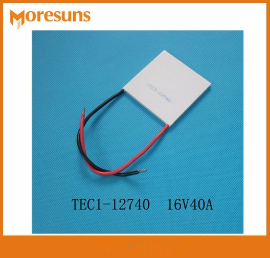 Free ship TEC1-12740 16V40A 62*62mm maximum size temperature difference semiconductor Thermoelectric Cooler Peltier 5050 thermoelectric cooler tec1 12708 15v8a 12v temperature difference semiconductor refrigeration refrigerating capacity 69w