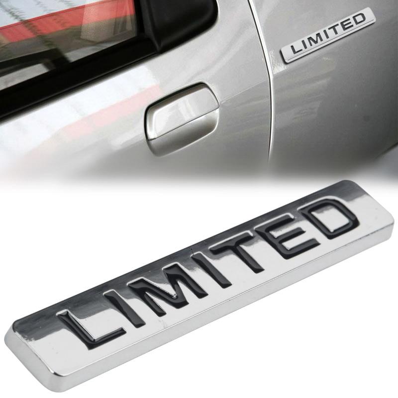 Mayitr Nero Argento Metallo LIMITATA Dellemblema del Distintivo Autoadesivo del Corpo di Automobile Ala Laterale Portellone Posteriore Per Jeep Grand Cherokee Refit Sticker