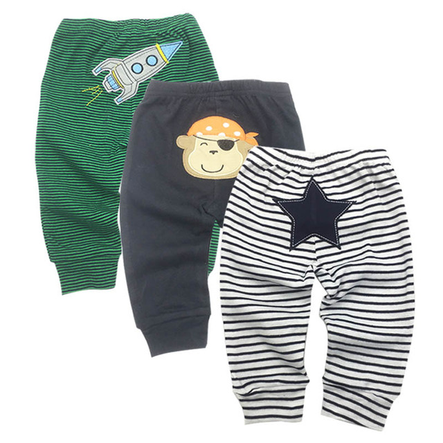 2019 new free shipping Retail 3pcs/pack 0-2years PP pants trousers Baby Infant cartoonfor boys girls Clothing 3piece/lot
