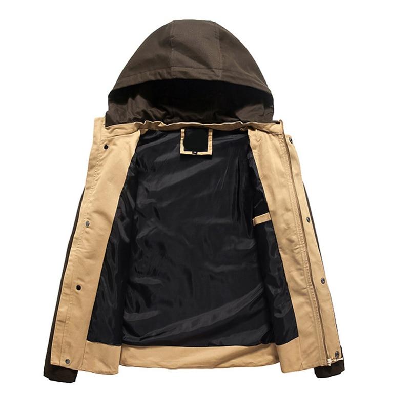 Herenjack 2017 lente nieuwe collectie toevallige hoodies jas heren - Herenkleding - Foto 3