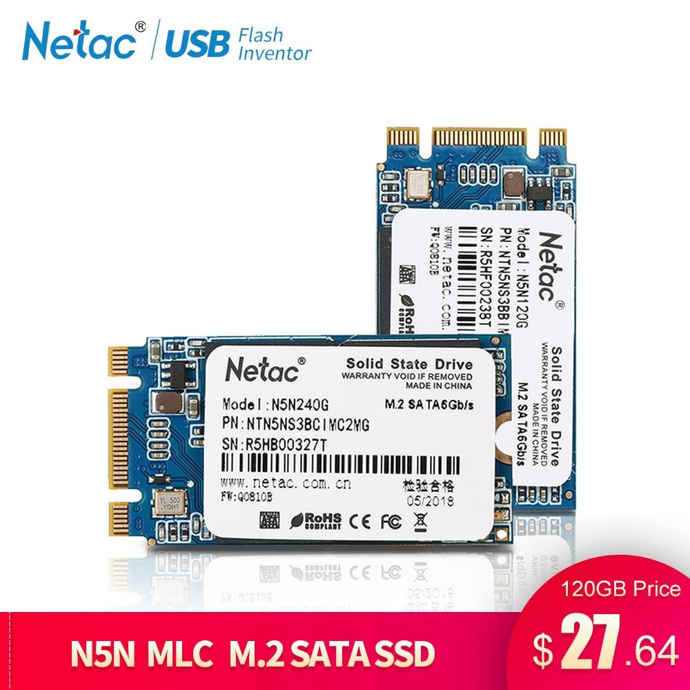 Netac M.2 2242 MLC SSD Festplatte 240 gb 120 gb Interne Solid State Drive N5N M2 SSD 240 gb 120 gb Disk Drive Für Laptop Computer