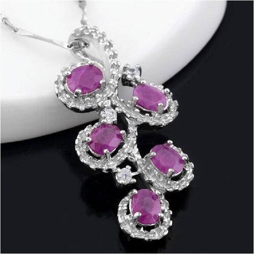 Collares Collier Qi Xuan_Red Stone цветок кулон ожерелье_ Настоящее ожерелье_ качество Directly ed_производитель напрямую
