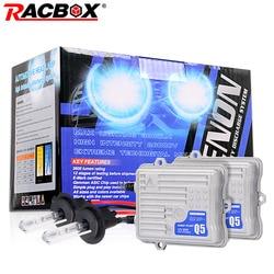12V 55W Quick Start Ballast Ignition Block H1 HID Bulb Xenon Conversion Headlight Kit 4300K 6000K 8000K Retrofit Projector Len