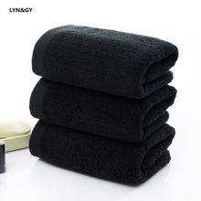 Lyn & gy роскошное мужское полотенце для лица toalha супер мягкое