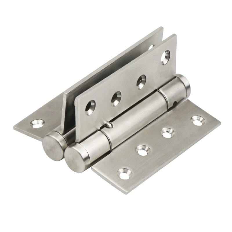 4 Inch Stainless Steel Stealth Door Hinge Spring Automatic Closing Multi Function Closed Door Bi-directional Back Hinge 2pcs цены
