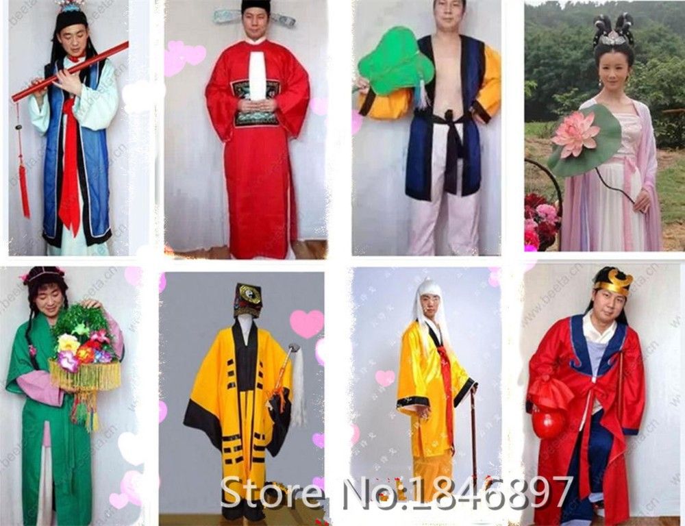 China Hanfu Stage Costumes For Actor Performance Wear Chinese