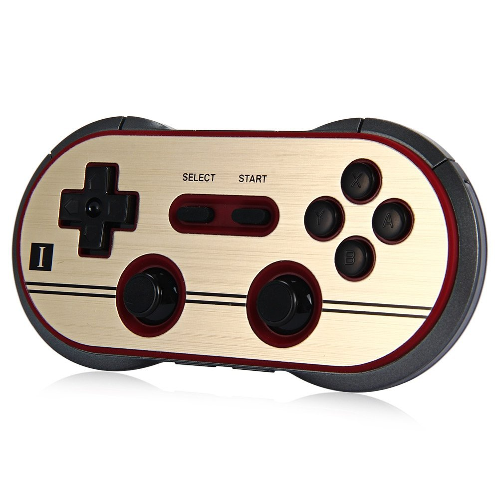 Wireless 8 Bitdo FC30 Pro Bluetooth Gamepad Controller Dual Classic Joystick for iOS Android Gamepad PC Mac Linux Game Accessory magicsee r1 bluetooth 4 0 wireless gamepad for ios android