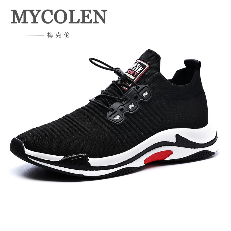 MYCOLEN The New Listing Spring/Autumn Man Casual Shoes Breathable Lace Up Flats Fashion Male Shoes Zapatos De Los Hombres autumn winter new men casual shoes cow suede leather work shoes mens fashion lace up breathable high top shoes zapatos hombres