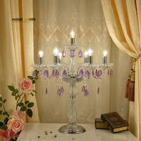 Современные хрустальные настольные лампы для гостиной спальня кабинет Abajur пункт кварто Крытый украсить дом k9 кристалл amparas De Mesa