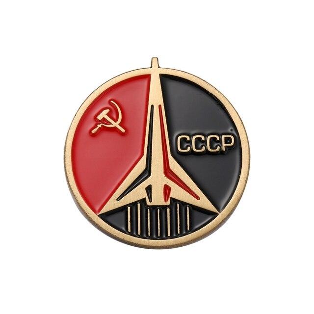 CCCP Xô Phù Hiệu Nga Pin Chuyến Bay Không Gian Vũ Trụ LIÊN XÔ Liên Xô Cộng sản Insignia