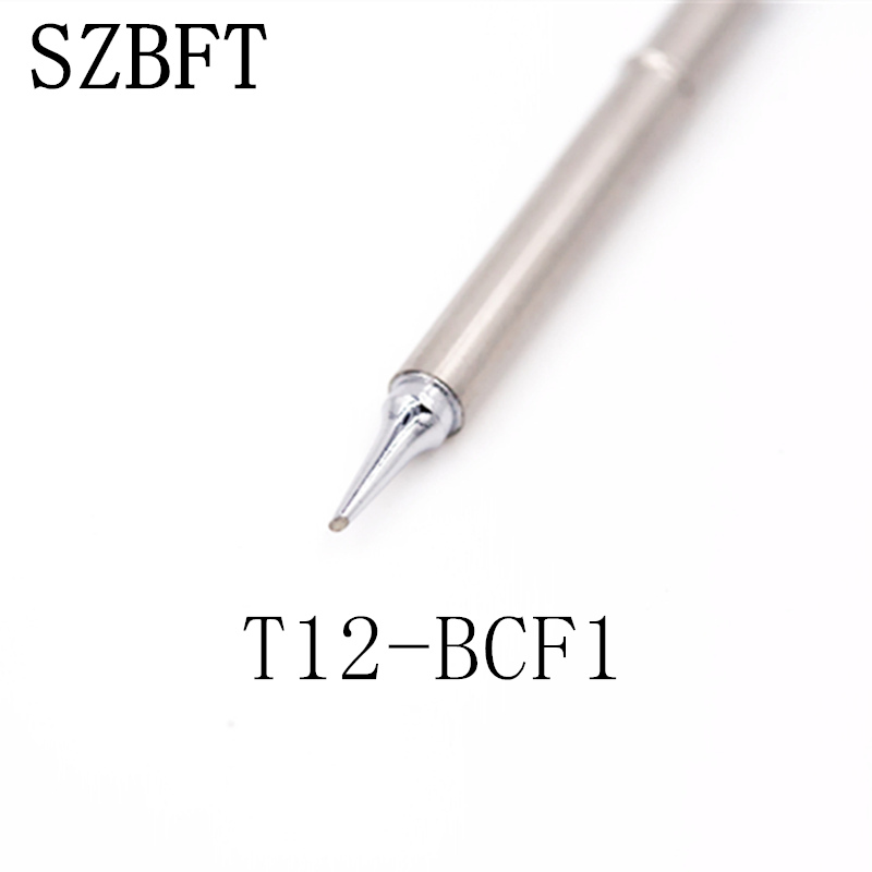 Tipy pro pájecí hrot SZBFT T12-BCF1 BCF3 BCF3Z BL C1 C4 C4Z pro pájecí stanici Hakko FX-951 FX-952