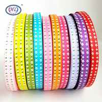 HL 15mm 10 Meters/lot Grosgrain Ribbons Wedding Party Decorative Crafts Gift Box Wrapping DIY Chilren Hair Accessories