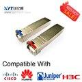 Factor Pluggable SFP + 10 Gbps T1270/R1330nm SFP + 10G 20 km Módulo Transceptor de Fibra Óptica