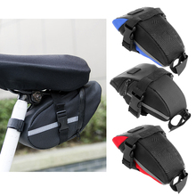 Outdoor Waterproof Cycling Mountain Bike Back Seat Rear Bag Portable Bike Saddle Bag MTB Front Tube Bicycle Tool Bags   Pouch цена 2017