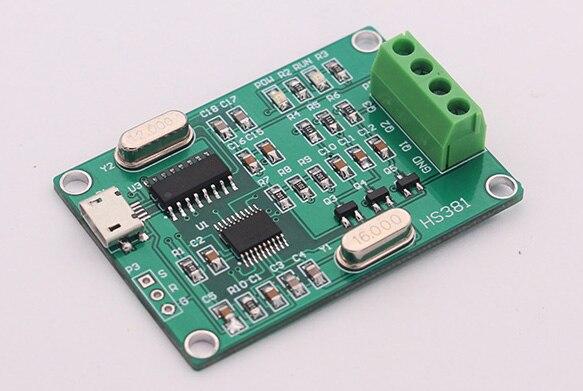 Générateur de signal sinusoïdal triphasé USB phase réglable de 0 ~ 360 à 0.1 à 2000Hz