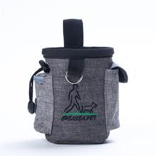 Dog Food Bag Pet Walking Snacks Outdoor Agility Bait Bags for Training Pockets Waist Storage Holder