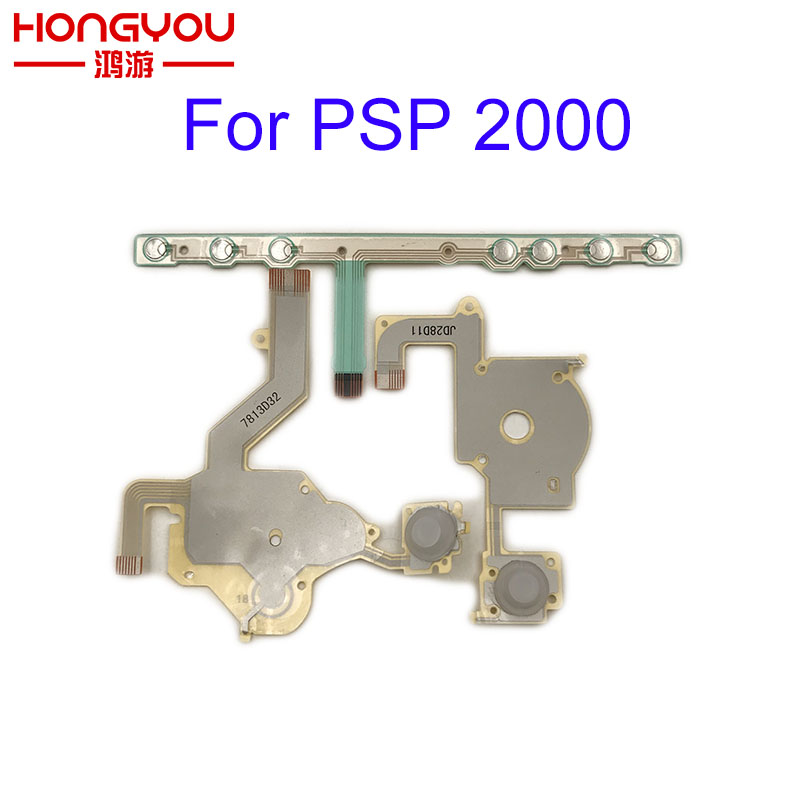 Replacement Direction Cross Button Left Key Volume Right Keypad Flex Cable for Sony PSP 2000 / PSP 2004 2001 2008 thumbnail