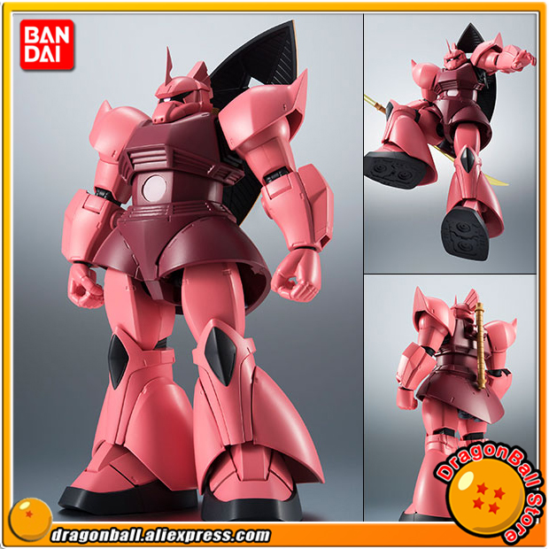 Japan Anime Mobile Suit Gundam Original BANDAI Robot Spirits No. 238 Action Figure - MS-14S Chars Gelgoog ver. A.N.I.M.E.Japan Anime Mobile Suit Gundam Original BANDAI Robot Spirits No. 238 Action Figure - MS-14S Chars Gelgoog ver. A.N.I.M.E.