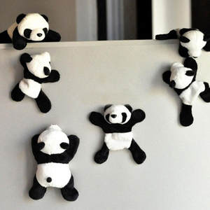 Magnet Refrigerator Sticker Souvenir Kitchen-Accessories Panda-Fridge Home-Decor Cartoons