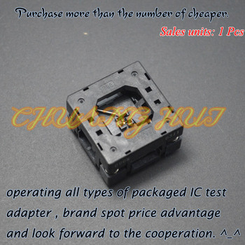 QFN20 test socket WSON20 DFN20 MLF20 socket 0.4mm size=3x3mm