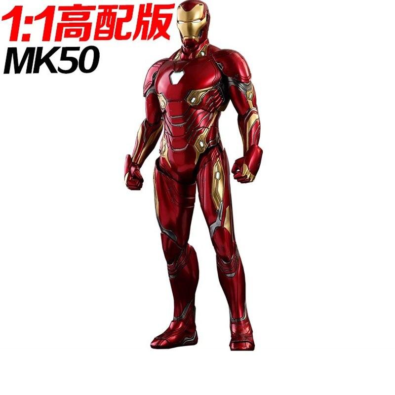 High with cut free 1 1 can wear iron man body head armor EVA model show