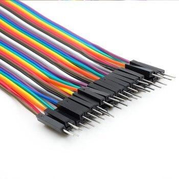 120pcs 20cm Multicolor Jumper Wires for Arduino / Raspberry Pi, 40 Male to Male, 40 Male to Female, 40 Female to Female 1