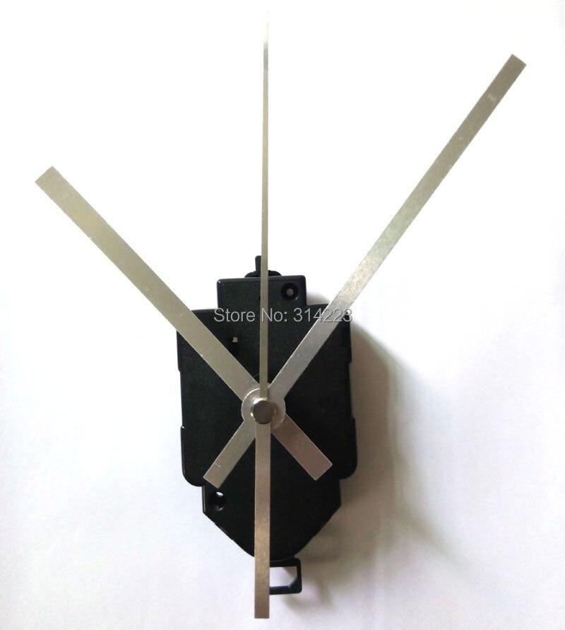 Free shipping 20 set Quartz Pendulum Clock Movement Kit Spindle Mechanism long shaft 22mm Jump seconds