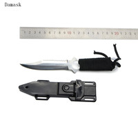 Damask Brand Fine Quatity Outdoor Knife And Knife Sheath Beat Gift Multi Functional Survival Tool For