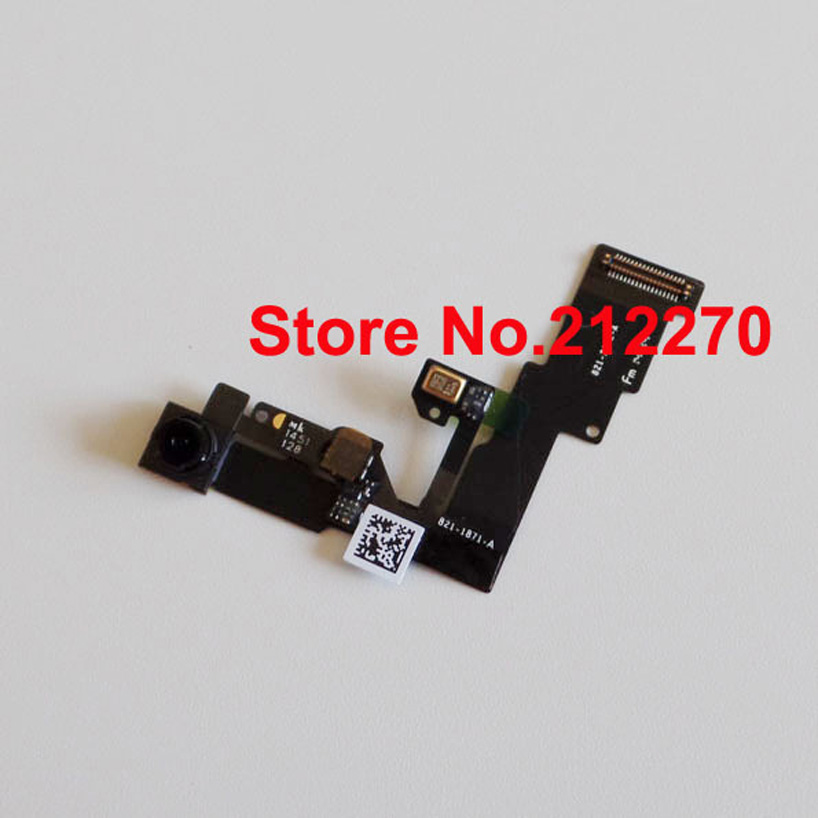YUYOND 50pcs lot Original New Front Camera Lens Proximity Light Sensor Flex Cable For iPhone 6