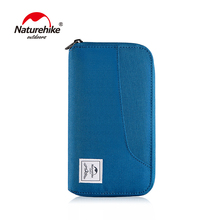 Naturehike RFID Travel Wallet Ultralight Portable Bag Waterproof For Documents Credit Cards Multi Functional
