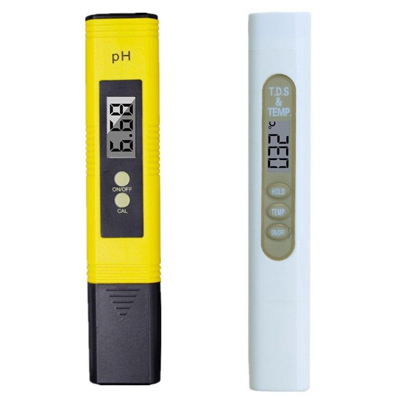 High Precision 0.01 Digital LCD Aquarium Water Acid PH Meter Analyzer Calibration And 2 In 1 Digital Water TDS Meter Purity 20% цена