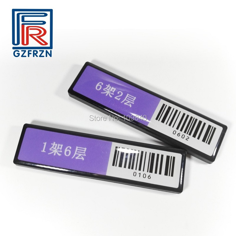 500pcs UHF passive RFID library shelf tag with Alien H3 chip waterproof long range reading 915MHz tags 1000pcs long range rfid plastic seal tag alien h3 used for waste bin management and gas jar management
