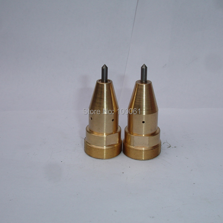 4x62mm alloy marking machine pin with brass cover for pneumatic marking machine