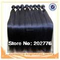 Pelo al por mayor 10 Unidades mucho Grado 6A Barato Del Pelo Humano 100g Bundles Malaysian Virgin Hair Weave bundles recta libre gratis