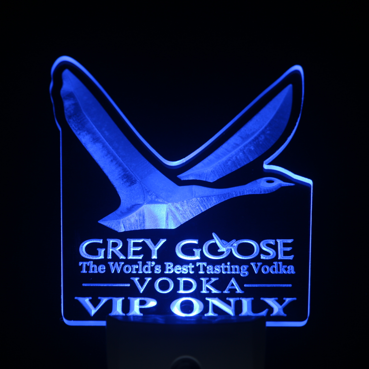 ws0209 Grey Goose Vodka VIP Only Day/ Night Sensor Led Night Light Sign